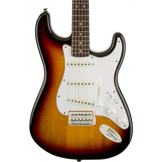 SQUIER VINTAGE MODIFIED STRATOCASTER ELECTRIC GUITAR, ROSEWOOD FINGERBOARD