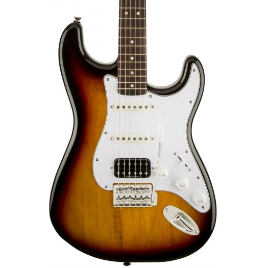 SQUIER VINTAGE MODIFIED HSS STRATOCASTER ELECTRIC GUITAR, ROSEWOOD FINGERBOARD