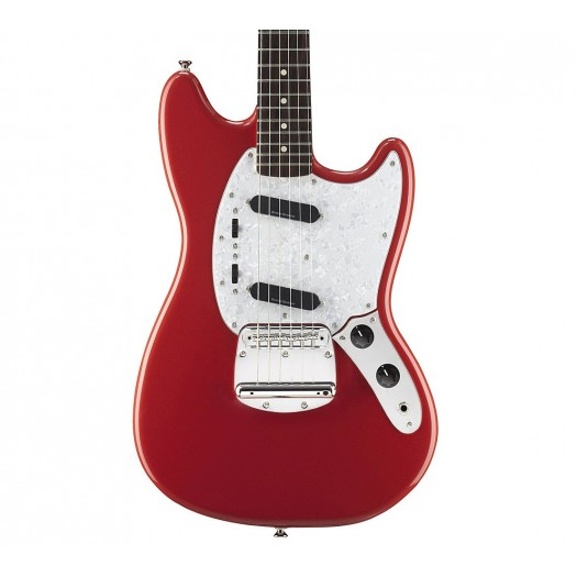 SQUIER BY FENDER VINTAGE MODIFIED MUSTANG ELECTRIC GUITAR, ROSEWOOD FINGERBOARD