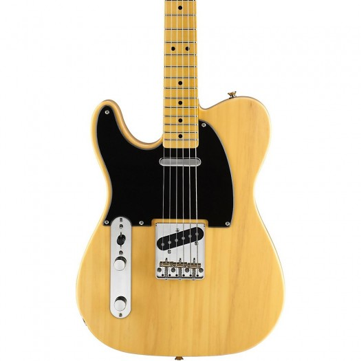 SQUIER CLASSIC VIBE 50s TELECASTER LEFT-HANDED ELECTRIC GUITAR, BUTTERSCOTCH BLONDE