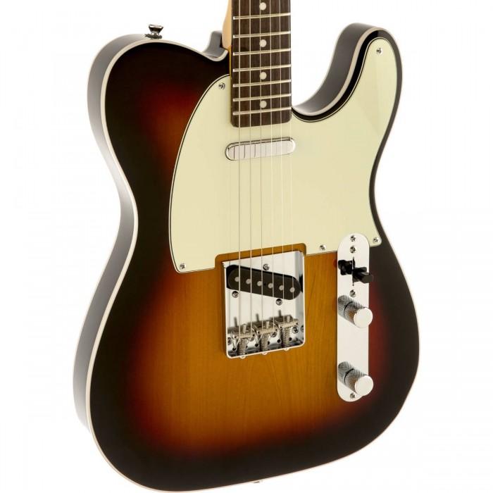squier classic vibe telecaster custom guitar rosewood fingerboard 3 tone sunburst. Black Bedroom Furniture Sets. Home Design Ideas