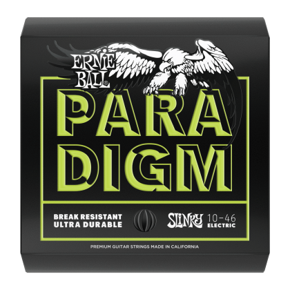 ERNIE BALL PARADIGM REGULAR SLINKY PARADIGM ELECTRIC GUITAR STRINGS - 10-46 GAUGE