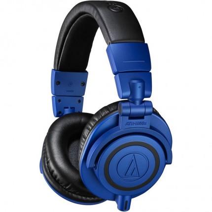 AUDIO-TECHNICA ATH-M50XBB LIMITED EDITION CLOSED-BACK STUDIO HEADPHONES BLUE/BLACK