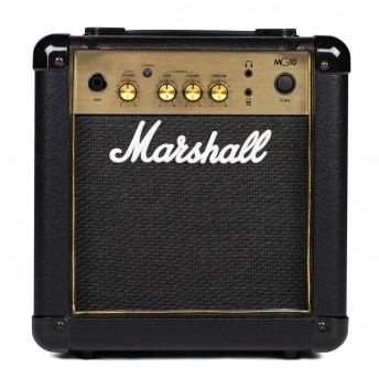 "MARSHALL MG10G 10-WATT 1x6.5"" COMBO AMP GOLD PLATE ( MG-10G / MG 10G )"