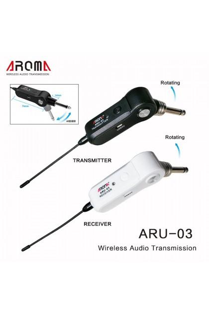 AROMA ARU-03 INSTRUMENT WIRELESS UNIT (GUITAR / BASS / ACOUSTIC / UKULELE )