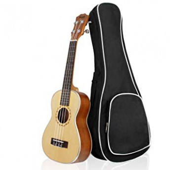 MUGIG MUK23 SOPRANO UKULELE WITH PADDED BAG (MUK-23 / MUK 23)
