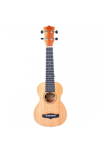 "*CLEARANCE* HANKEY KUS25D 21"" SOLID TOP SOPRANO UKULELE WITH PADDED BAG"