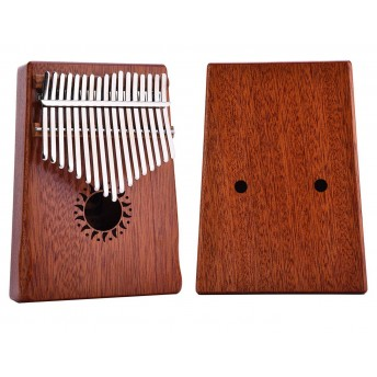 WALTER KALIMBA NATURAL MAHOGANY WOOD 17 KEYS