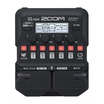 ZOOM G1 FOUR GUITAR MULTI EFFECT