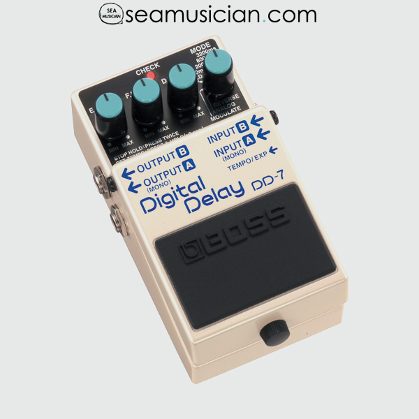 BOSS DIGITAL DELAY WITH PATCH CABLE DD7 - BOSSDD7