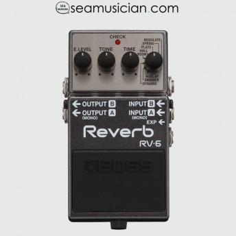 BOSS REVERB GUITAR EFFECT PEDAL RV6