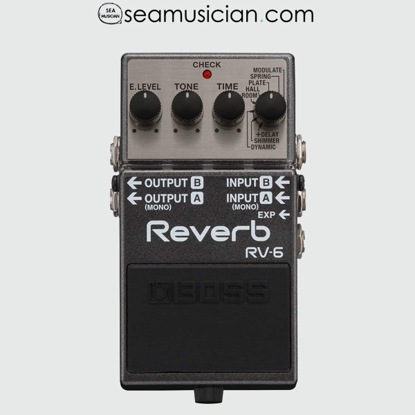 BOSS REVERB GUITAR EFFECT PEDAL RV6