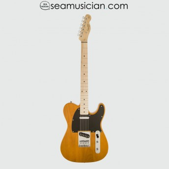 SQUIER BY FENDER AFFINITY TELECASTER ELECTRIC GUITAR, MAPLE FRETBOARD, BUTTERSCOTCH BLONDE
