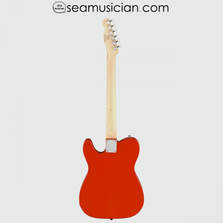 SQUIER BY FENDER AFFINITY TELECASTER ELECTRIC GUITAR, LAUREL FRETBOARD, RACE RED