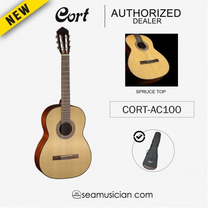 CORT AC-100 CLASSICAL GUITAR WITH BAG