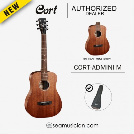 CORT AD-MINI M ACOUSTIC GUITAR WITH BAG