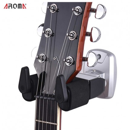 AROMA AH-81 GUITAR HOLDER AUTO LOCK FOR ACCOUSTIC GUITAR
