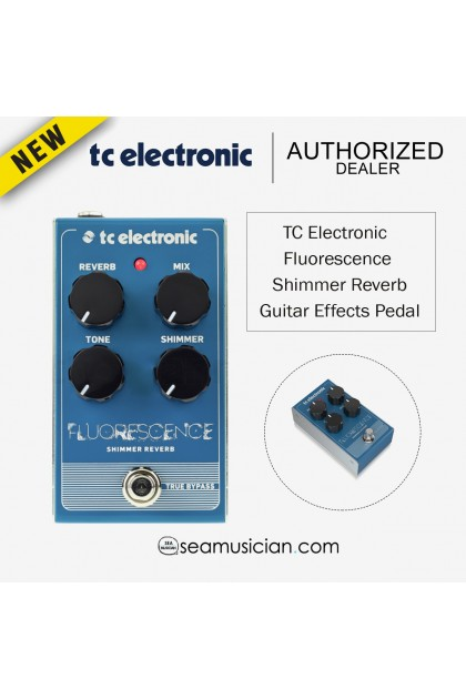 TC ELECTRONIC FLUORESCENCE SHIMMER REVERB GUITAR EFFECTS PEDAL