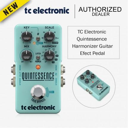 TC ELECTRONIC QUINTESSENCE HARMONIZER GUITAR EFFECT PEDAL