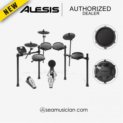 ALESIS NITRO MESH ELECTRONIC DRUM KIT DIGITAL DRUM ( ALE-A62-NITROMESHKIT )