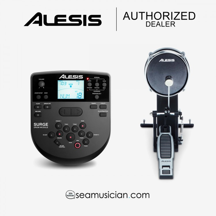 ALESIS SURGE ELECTRONIC DRUM KIT DIGITAL DRUM ( ALE-A62-SURGEMESHKITXEU )