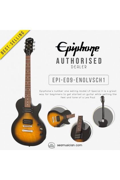 EPIPHONE ENOLVSCH1 LES PAUL SL ELECTRIC GUITAR, VINTAGE SUNBURST (SEAMUSICIAN)
