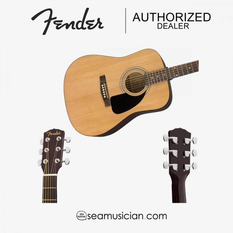 FENDER FA-115 DREADNOUGHT GUITAR PACK V2, WALNUT FRETBOARD, NATURAL FEN-F03-097-1210-721