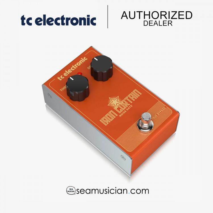 TC ELECTRONIC IRON CURTAIN NOISE GATE GUITAR EFFECTS PEDAL (TC000CQ900)