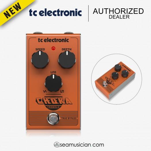 TC ELECTRONIC CHOKA TREMOLO GUITAR EFFECTS PEDAL (TC000CQC00)