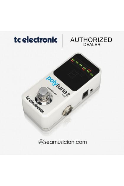 TC ELECTRONIC POLYTUNE MINI 2 TUNER GUITAR PEDAL (TC000DD700)