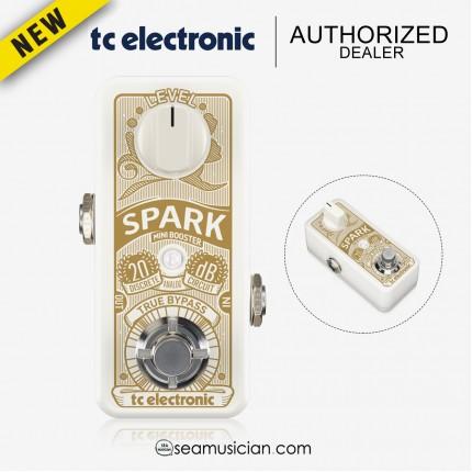 TC ELECTRONIC SPARK MINI BOOSTER GUITAR EFFECTS PEDAL (TC000DDA00)