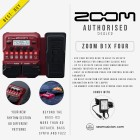 ZOOM B1X FOUR BASS MULTI EFFECT PEDAL WITH AD16 ADAPTER SUPPLY (ZOOM-B1XFOUR)