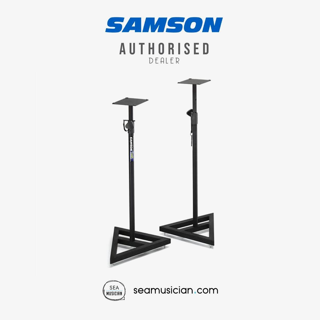 Samson MS200 Studio Monitor Stands pair