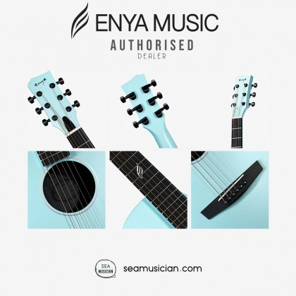 ENYA NOVA G SERIES BLUE ACOUSTIC GUITAR PACK WITH BAG, CAPO, STRING, STRAP (ENY-NOVAG BU-P)