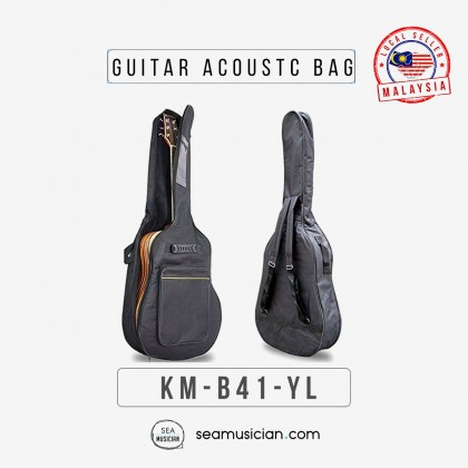 """ACOUSTIC GUITAR BAG FOR 41""""IN WITH SPONGE  B41"""