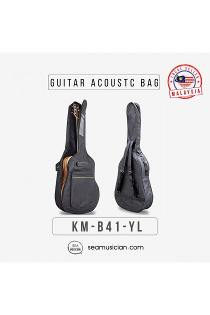 "ACOUSTIC GUITAR BAG FOR 41""IN WITH SPONGE  B41"