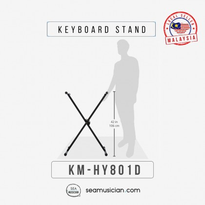 KEYBOARD STAND DETACHABLE SINGLE X STAND HY801D