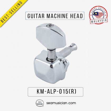 SILVER ELECTRIC ALP015 R ACOUSTIC GUITAR MACHINE HEAD TUNING PEG RIGHT