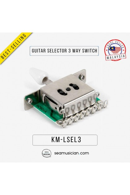 3 WAY PICKUP SELECTOR SWITCHES FOR ELECTRIC GUITAR LSEL3