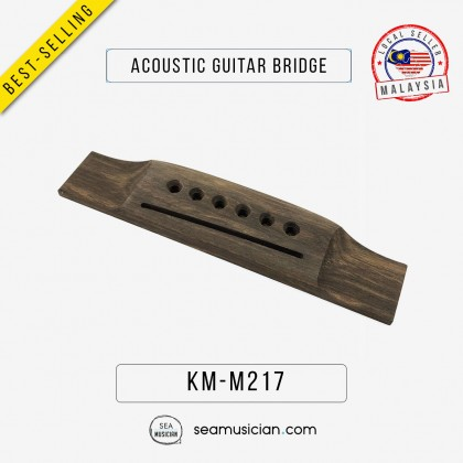 ACOUSTIC GUITAR WOODEN BRIDGE REPLACEMENT PARTS M217