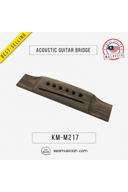 ACOUSTIC GUITAR WOODEN BRIDGE REPLACEMENT PARTS M217