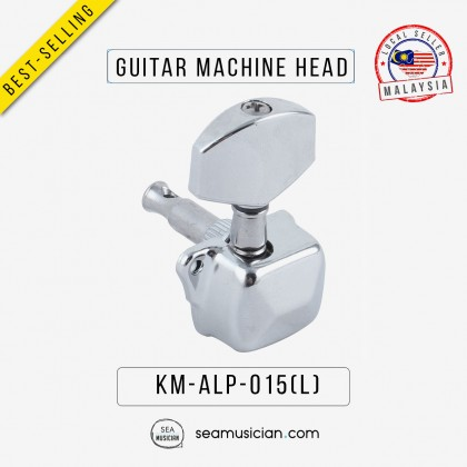 SILVER ELECTRIC ALP015 L ACOUSTIC GUITAR MACHINE HEAD TUNING PEG LEFT