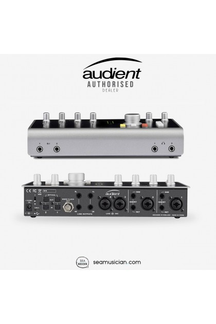 AUDIENT iD44 20 X 24 SUPER HIGH PERFORMANCE USB AUDIO INTERFACE & MIC PREAMP (iD-44)
