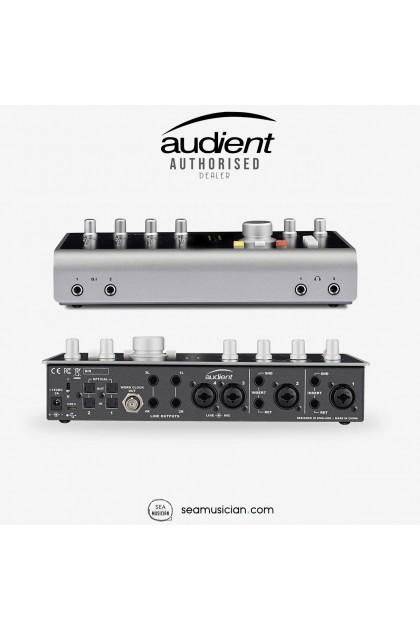 AUDIENT iD44 20 X 24 SUPER HIGH PERFORMANCE USB AUDIO INTERFACE & MIC PREAMP (iD-44)