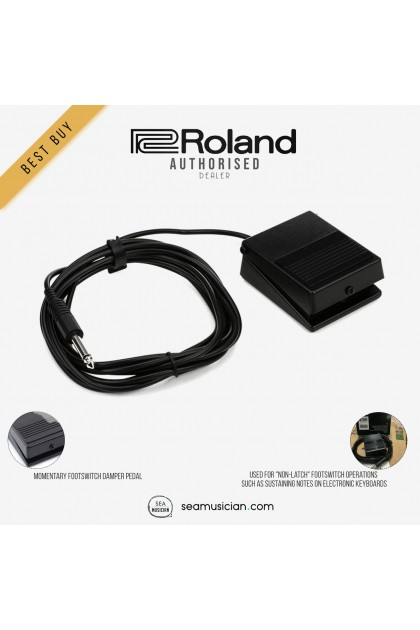 ROLAND DP-2 MOMENTARY FOOT SWITCH FOR NON-LATCH OPERATIONS DAMPER PEDAL