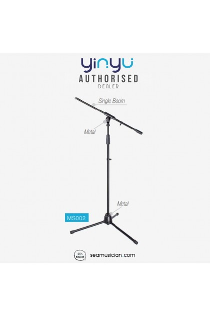 YINYU MICROPHONE SINGLE BOOM STAND WITH MIC CLIP YY-MS002