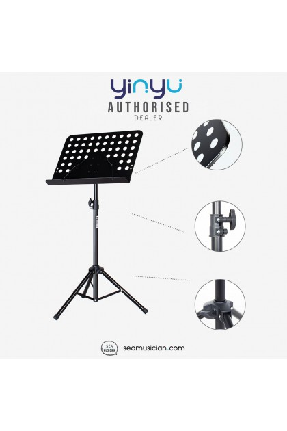YINYU MUSIC STAND/CONDUCTOR STAND WITH HOLE YY-MUS012