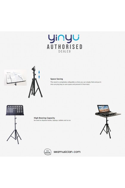 YINYU MINI MUSIC STAND WITH CARRYING BAG YY-MUS023