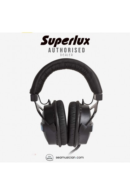 SUPERLUX HD330 SEMI OPEN DYNAMIC STEREO RECORDING HEADPHONE