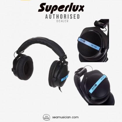 SUPERLUX HD330 SEMI OPEN DYNAMIC STEREO RECORDING HEADPHONE 150 Ω OHM